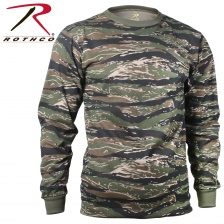 Футболка с длинным рукавом Rothco Long Sleeve Colored Camo T-Shirt tigre stripe