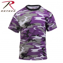Футболка Rothco Colored Camo T-Shirts Ultra Violet