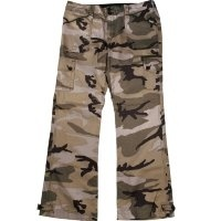 Штаны Rothco Womens Subdued Woodland Camo Vintage Low Cut Pants
