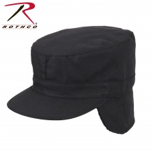 Кепка утеплённая  Rothco Winter Combat Cap with Earflap Black