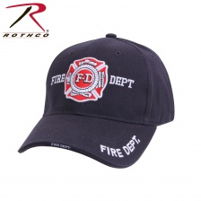 Бейсболка Rothco Deluxe Fire Department Low Profile Cap
