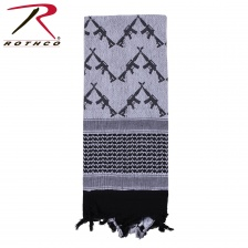 Тактический шарф  Rothco Crossed Rifles Shemagh Tactical Scarf