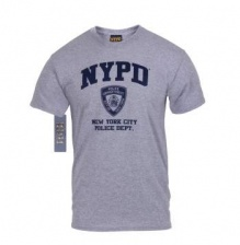 Футболка Rothco Officialle Licensed NYPD Physical Training T-Shirt