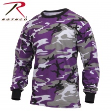 Футболка с длинным рукавом Rothco Long Sleeve Colored Camo T-Shirt ultra violet