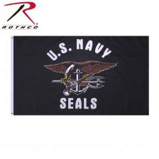 Флаг Rothco United States Navy Seals Flag