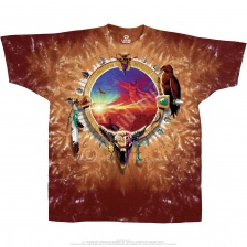 Футболка Liquid Blue Canyon Sunset Tie-Dye T-Shirt
