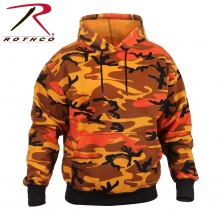 Толстовка Rothco Camo Pullover Hooded Sweatshirt orange