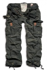 Штаны SURPLUS PREMIUM VINTAGE TROUSERS BLACK CAMO