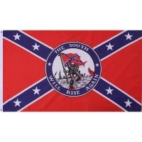Флаг Rothco Confederate States South Will Rise Again Flag