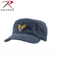 Кепка Rothco Navy Blue Vintage Fatigue Cap with Strategic Air Command
