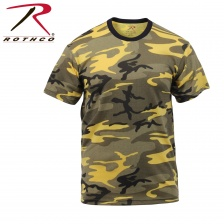 Футболка Rothco Colored Camo T-Shirts Yellow