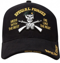 Бейсболка Rothco Deluxe SPECIAL FORCES Low Profile Cap