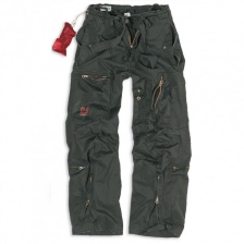 Штаны SURPLUS INFANTRY CARGO BLACK