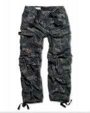 Штаны SURPLUS AIRBORNE VINTAGE TROUSERS BLACK CAMO
