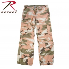Штаны женские  Rothco Womens Camo Vintage Paratrooper Fatigue Pants