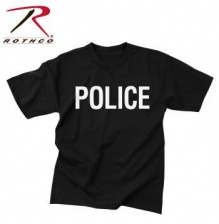 Футболка Rothco 2-Sided Police T-Shirt