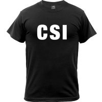 Футболка Rothco CSI Printed T-Shirt Black фото 1
