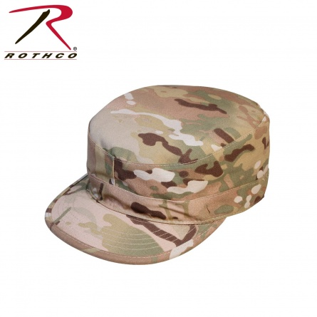 Кепка  Rothco Gov't Spec 2 Ply Multicam Army Ranger Fatigue Cap  фото 1