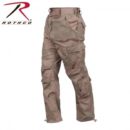 Штаны Rothco's Vintage Camo Paratrooper Fatigue Pants фото 3