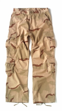 Штаны Rothco's Vintage Camo Paratrooper Fatigue Pants фото 1