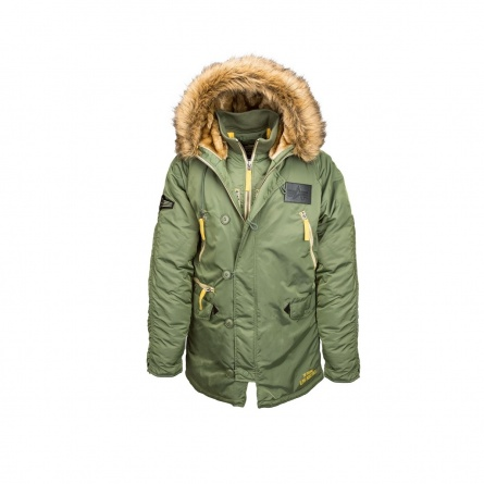 N-3B INCLEMENT PARKA SAGE GREEN фото 1