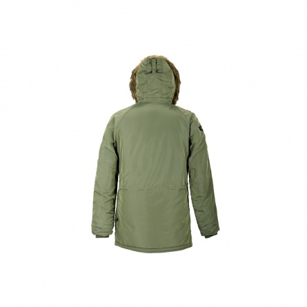 N-3B INCLEMENT PARKA SAGE GREEN фото 2